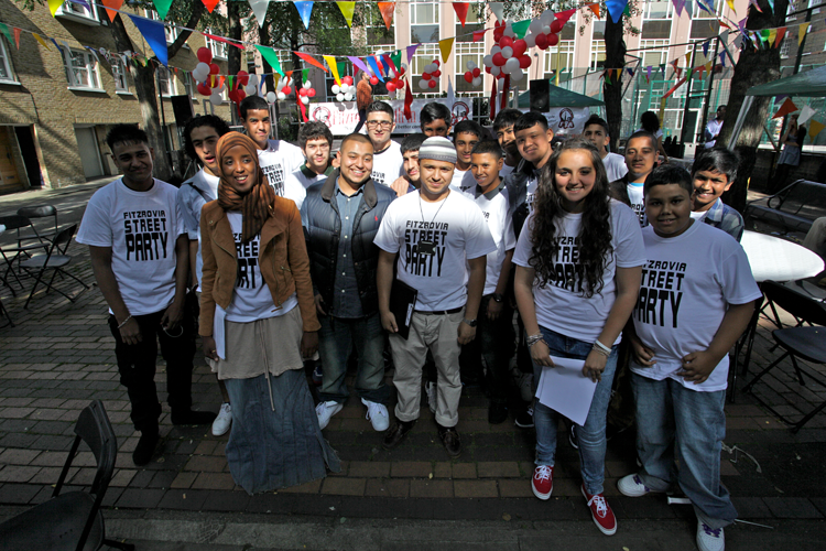 Fitzrovia Youth in Action Street Party 2012