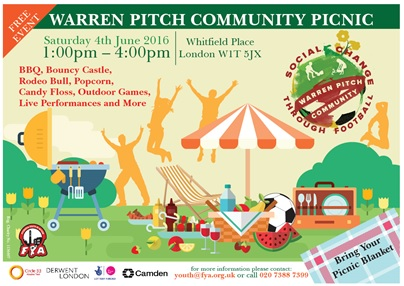 Warren Pitch Community Picnic Poster for website